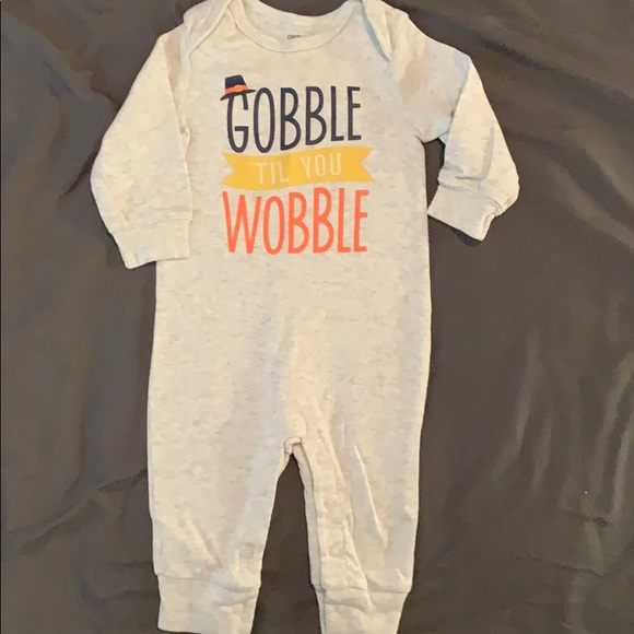 Carter's Other - Gobble til you wobble one piece.